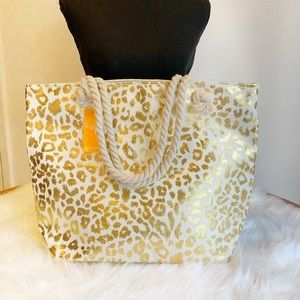 💥LAST ONE💥Gold Leopard Tote